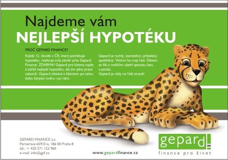 Gepard finance - jak financovat bydlení