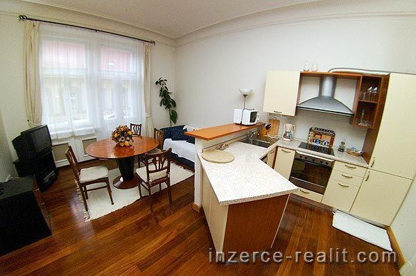 Praha, velmi pěkný byt 3+kk k pronájmu, plně zařízený, Truhlářská ulice, Nové Město, 65m2
