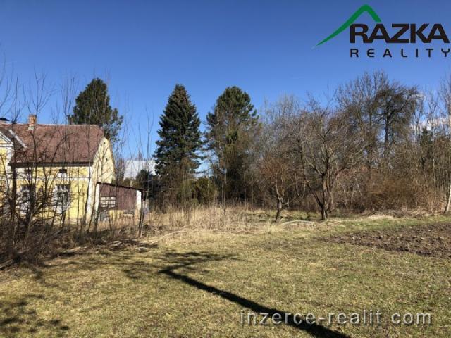 Pozemek k výstavbě,  1151 m2, Jemnice na Tachovsku