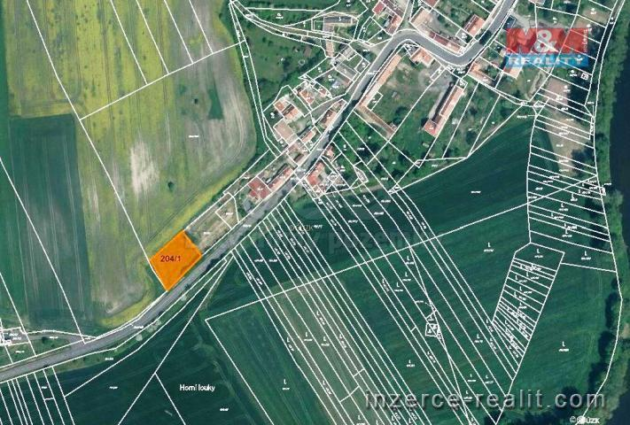 Prodej, zahrada, 1075 m2, Orasice