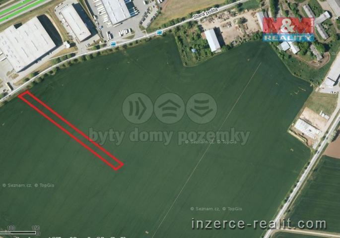 Prodej, stavební pozemek, 2417 m2, Rajhrad