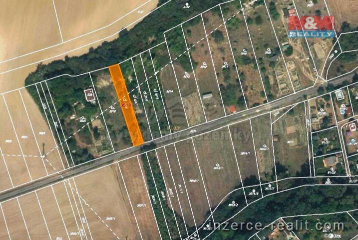 Prodej, zahrada, 474 m2, Holešov-Dobrotice