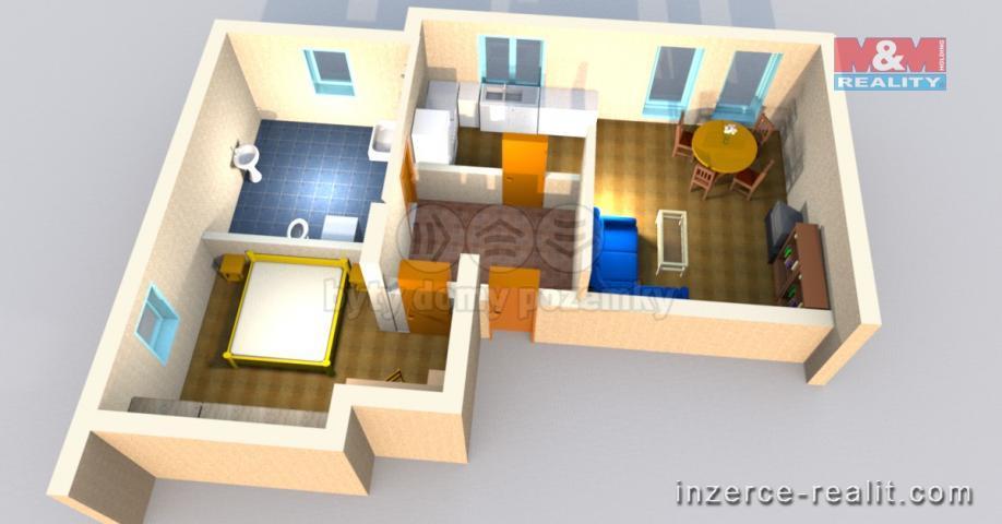 Prodej, byt 2+kk, Prostějov, půdní prostor