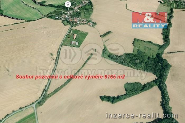 Prodej, pole, 6165 m2, Soběsuky