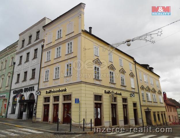 Prodej, nájemní dům, Jindřichův Hradec