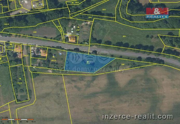 Prodej, pozemek, 1797 m2, Nepomyšl