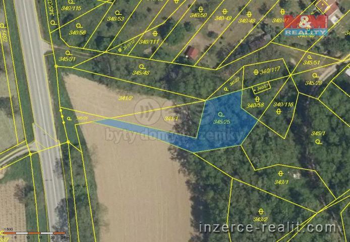 Prodej, pozemek, 555 m2, Ledce
