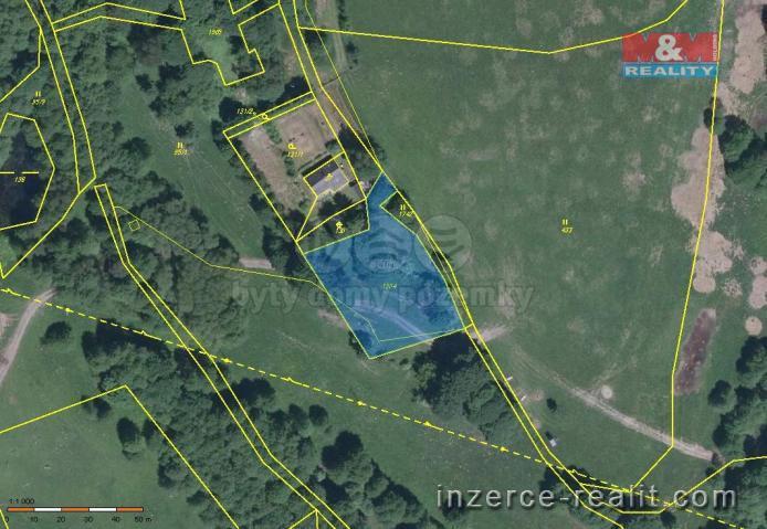 Prodej, pozemek, 1899 m2, Luby - Dolní Luby