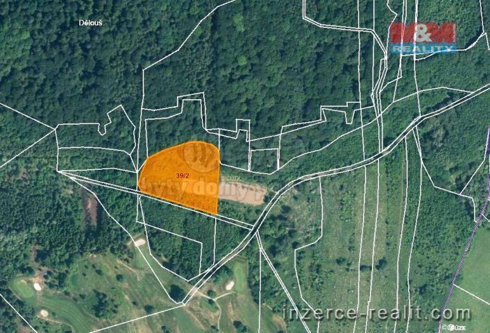 Prodej, orná půda, 10050 m2, Ústí nad Labem-Dělouš