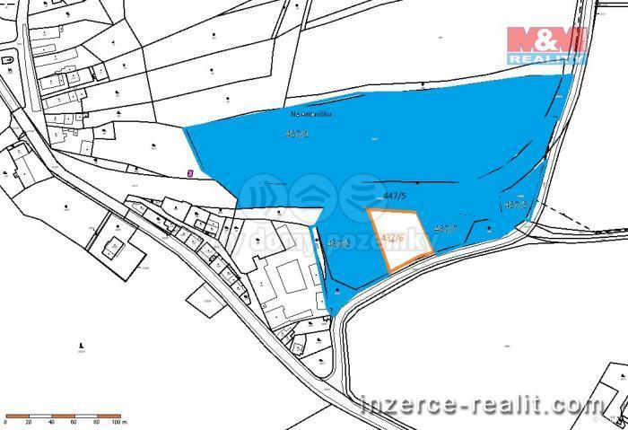Prodej, stavební pozemek 36716 m2, Dubí - Mstišov