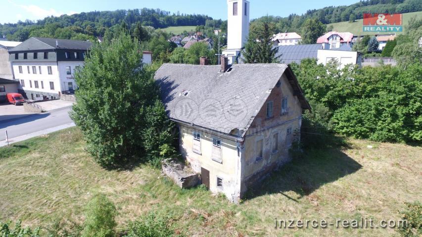 Prodej, rodinný dům 3+1, 240 m2, Semily, ul. Nádražní