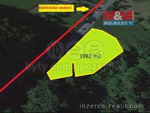 Prodej, stavební pozemek, 1982 m2, Vsetín