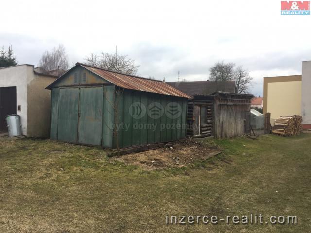 Prodej, pozemek s garáží, 121 m2, Hospříz