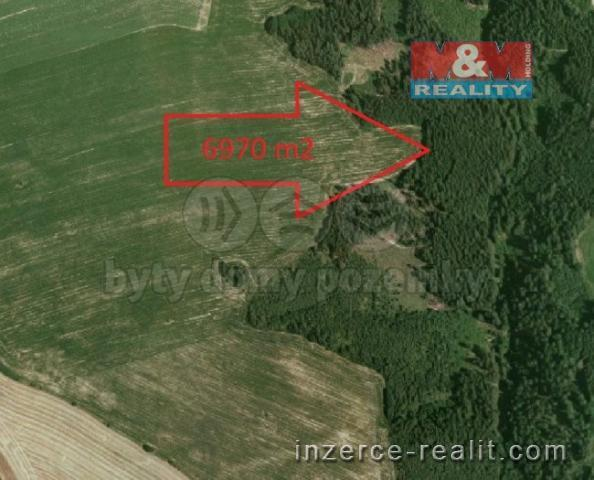 Prodej, les, 6970 m2, Kácov