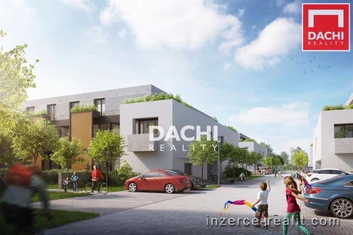Prodej novostavby bytu A2.6 - 1+kk, 31 m, Olomouc, ul. Střední Novosadská, Zahrady Novosadská