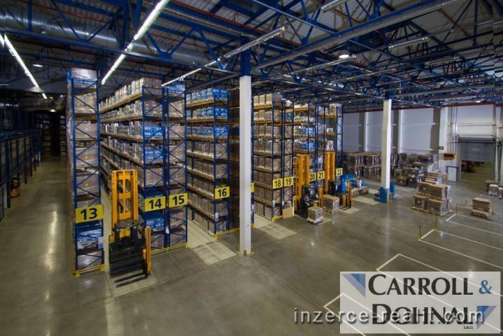 Nabízíme k pronájmu skladové, výrobní a administrativní prostory, 4500m2,  Opava- ulice Těšínská
