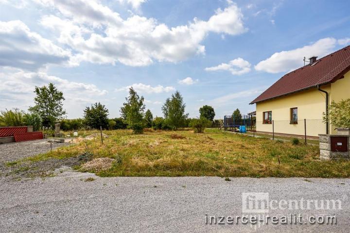 Prodej stavebního pozemku 844 m2, Záhornice