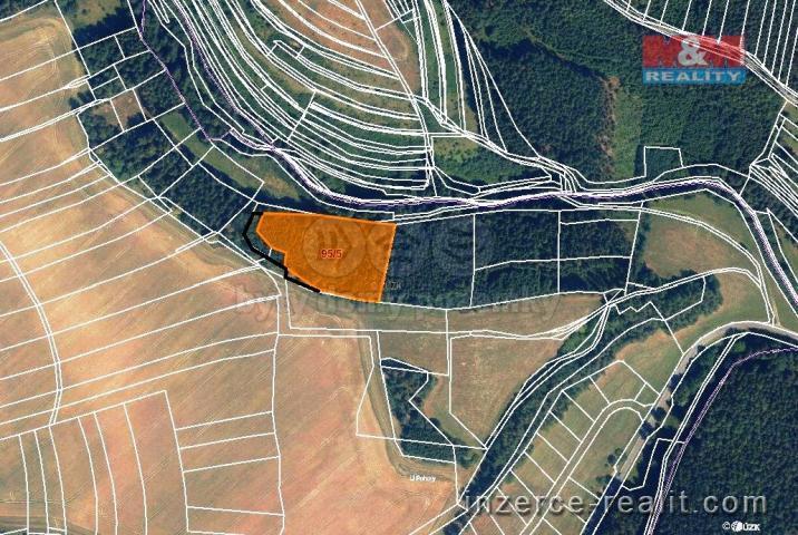 Prodej, les, 9123 m2, Malá Roudka-Skočova Lhota