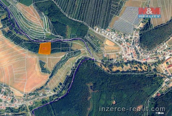 Prodej, les, 7247 m2, Malá Roudka-Skočova Lhota