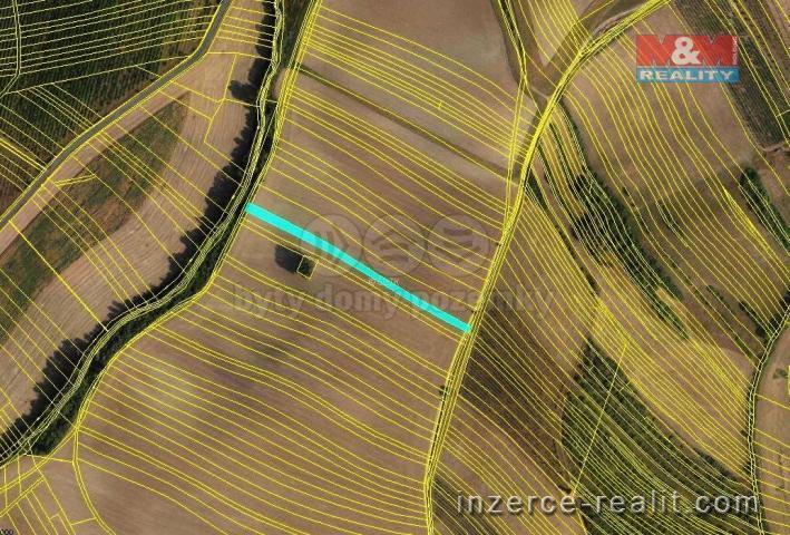 Prodej, orná půda, 868 m2, Troubky