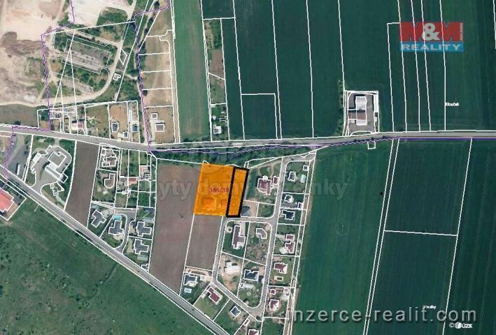 Prodej, stavební parcela, 1400 m2, Bezděkov u Žatce