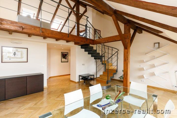 Luxusní byt 4+1 na Praze 2 v Polské ulici, P2 Vinohrady, prestižní lokalita u Riegerových sadů