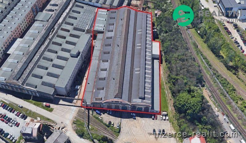 Výrobní hala v centru Plzně