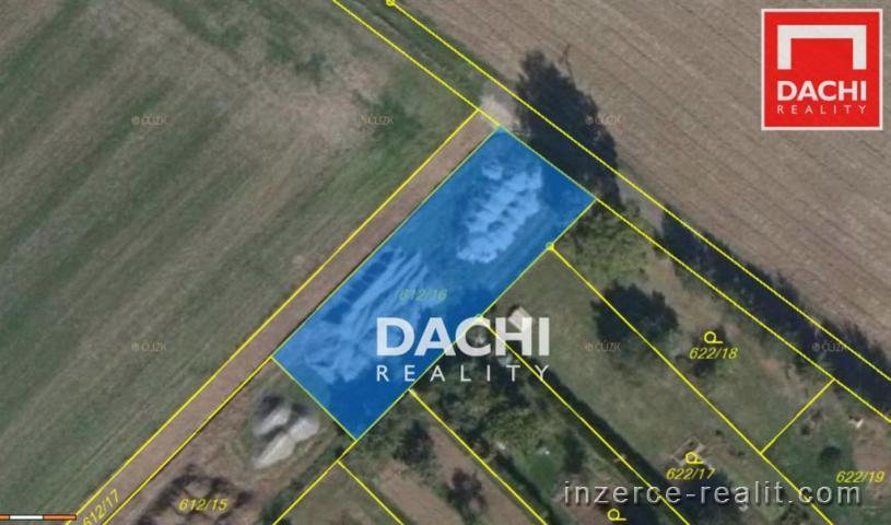 Prodej stavebního pozemku 893m, Senice na Hané