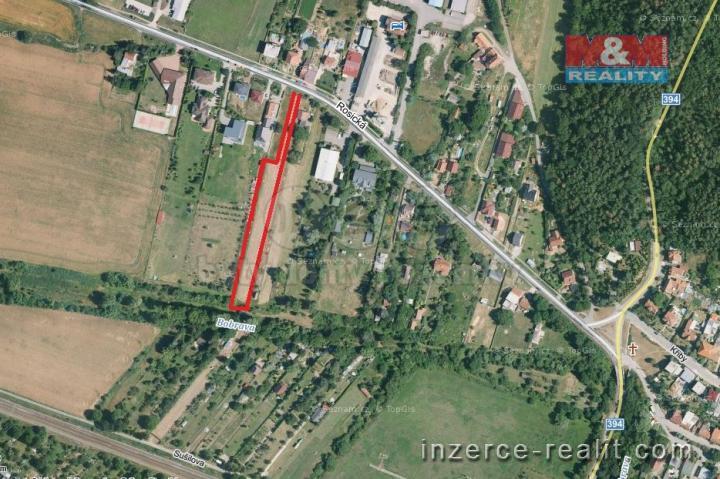 Prodej, stavební pozemek, 2916 m2, Tetčice