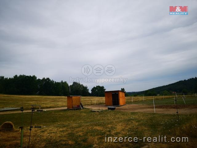 Prodej, stavební parcela 5607 m2, Škvořetice