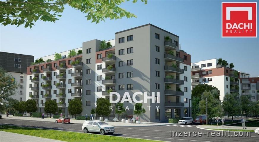 Prodej novostavby bytu B509 - 3+kk 69 m, Olomouc, ul. Wolkerova, Zlaté terasy