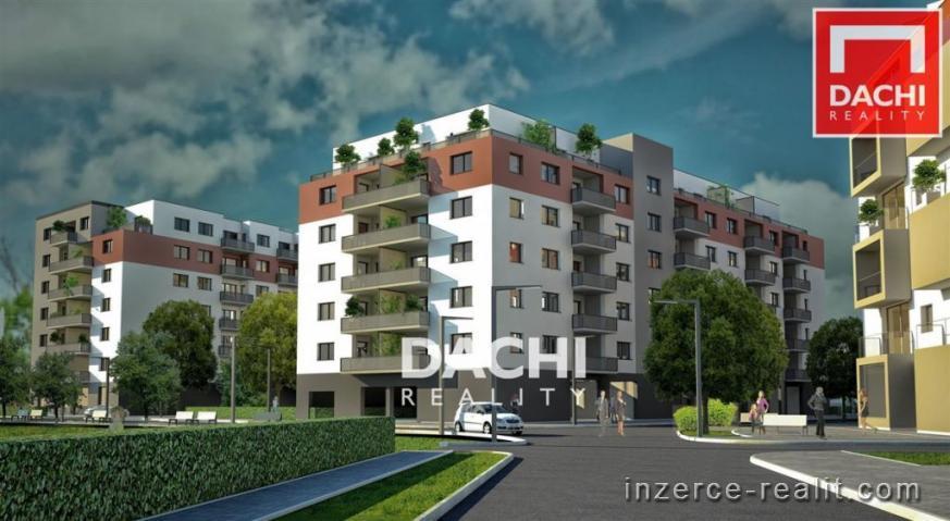 Prodej novostavby bytu B616 - 3+kk 87 m, Olomouc, ul. Wolkerova, Zlaté terasy