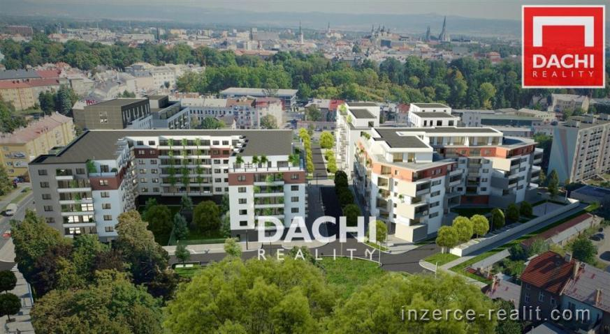 Prodej novostavby bytu B620 - 3+kk 78 m, Olomouc, ul. Wolkerova, Zlaté terasy