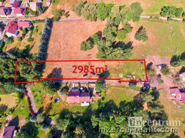Prodej stavebního pozemku 2985 m2, Frýdlant