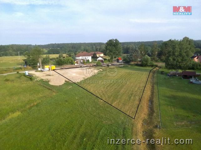 Prodej, stavební pozemek, 3 453 m2, Lásenice