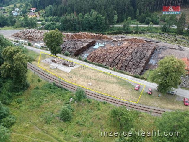 Prodej, provozní plochy, 1.454 m2, Loučovice