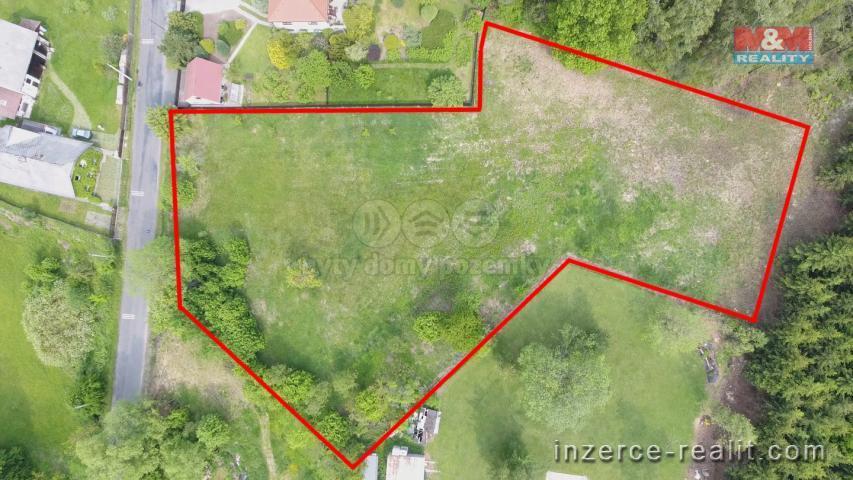 Prodej, stavební pozemek, 4982 m², Sudějov
