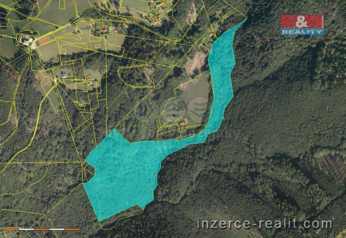 Prodej, les, 76174 m², Hrádek