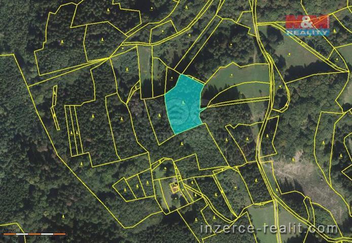 Prodej, les, 4159 m2,Vsetín