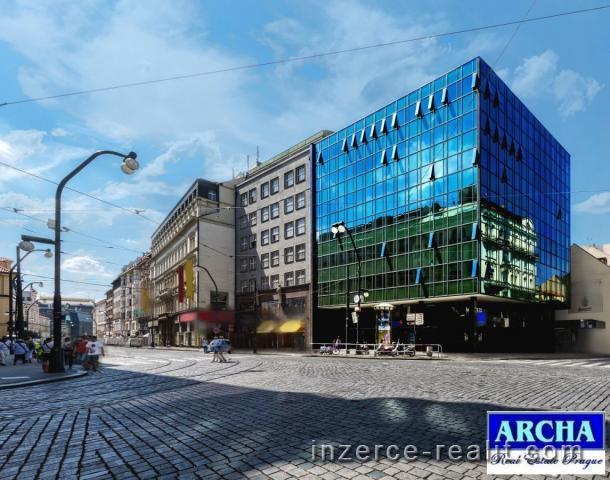 Nájem OBCHODNÍCH ploch 250 m2, po rekonstrukci, Praha 1 Centrum