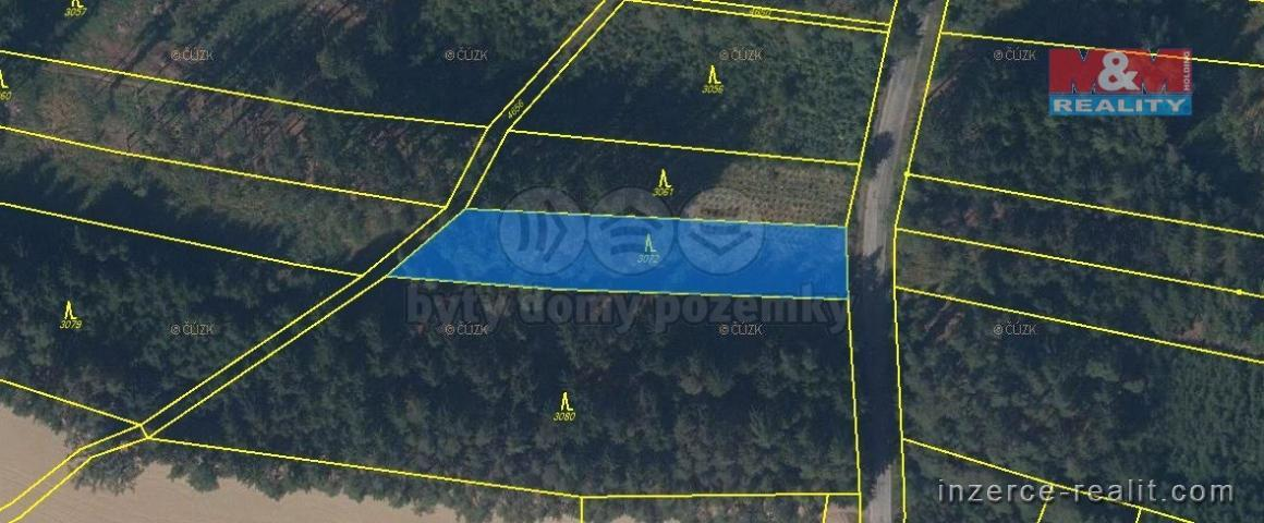 Prodej, les, 23737 m2, okr. Svitavy
