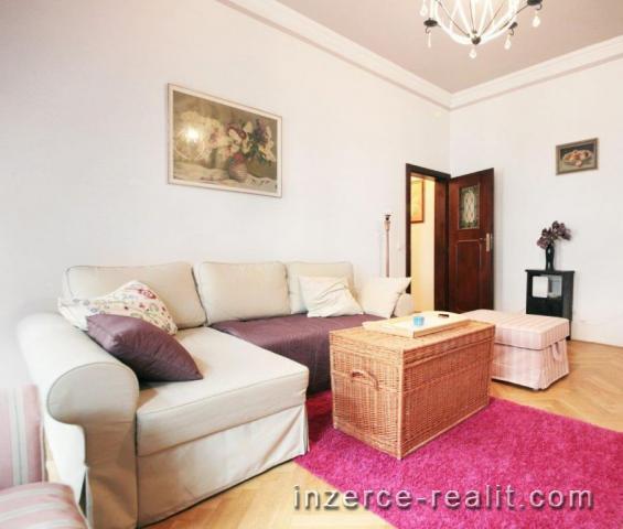 Praha, zařízený byt k pronájmu 2+1 (70m2), ulice Pplk. Sochora, Holešovice