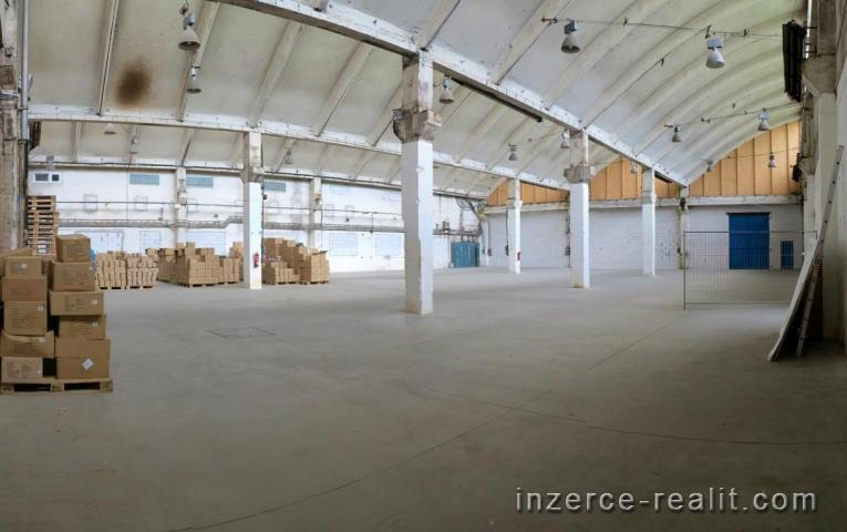Nájem haly o výměře 1 050 m2, Praha 5 Zličín