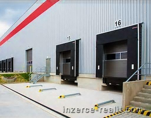 Nájem skladové haly 1 300 až 4 500 m2, okraj Berouna