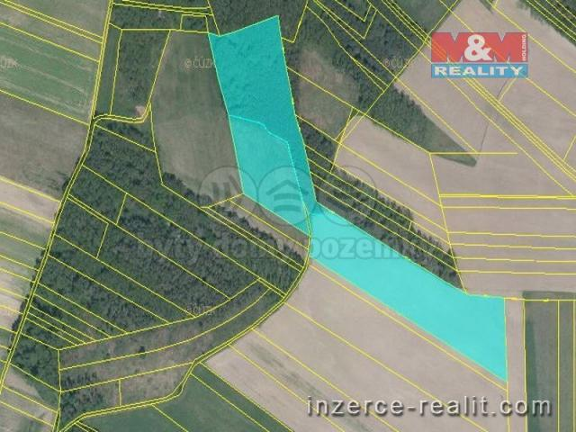 Prodej, pozemek, 37657 m2, Chodouny