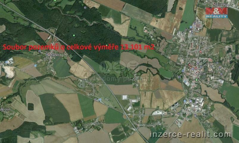 Prodej, louka, 13101 m2, Mladeč