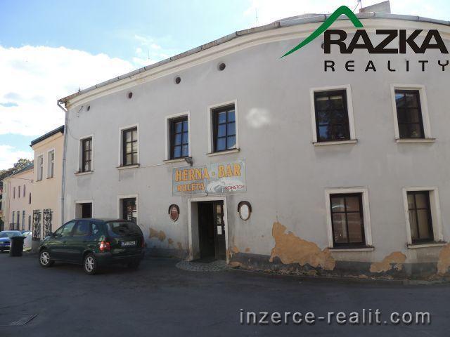 Nebytové prostory v centru Tachova, ul. K.H. Borovského