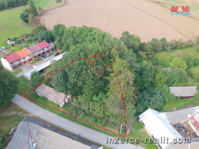 Prodej, stavební pozemek, 2047 m2, Studená, Skrýchov