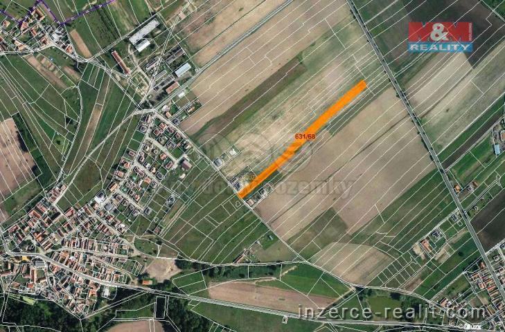 Prodej, orná půda, 6584 m2, Tuhaň