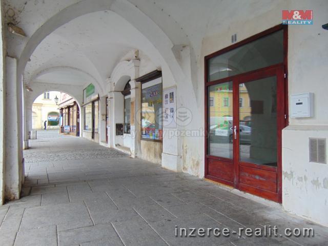 Pronájem, obchodní objekt, 55 m2, Žatec, ul. náměstí Svobody